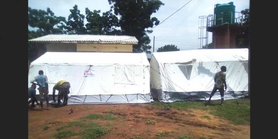 無國界醫生在馬拉威應對水災。除了馬拉威,這次水災還影響非洲南部的莫三比克及辛巴威。© MSF