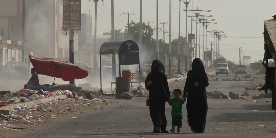 "(畫面擷自影片""Reflecting on Taiz, Yemen"")©Adela Vukovic/MSF"