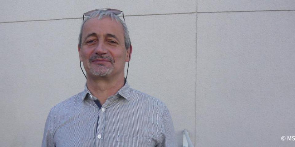 法蘭西斯‧法賴因醫生(Dr Francis Varaine),無國界醫生結核病工作小組組長。
