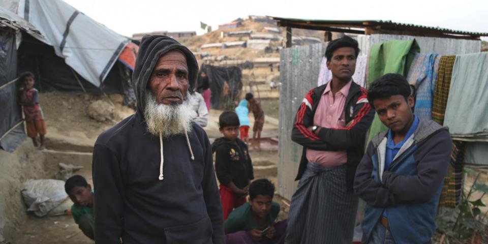 阿里已經80歲了,曾三度成為孟加拉的難民。©Anna Surinyach