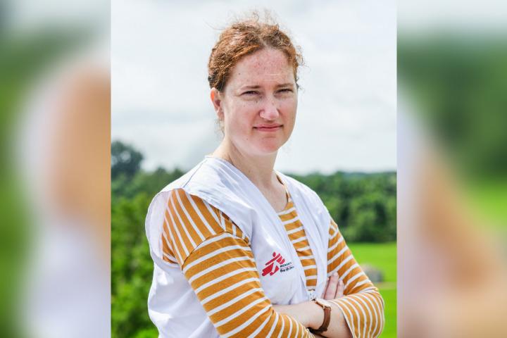 懷特(Kate White),無國界醫生駐孟加拉緊急醫療項目統籌。