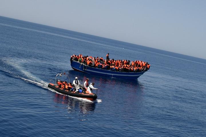 當歐洲仍在讓渡海者落難 搜救船「Aquarius」號被迫終止搜救行動。© Ikram N'gadi
