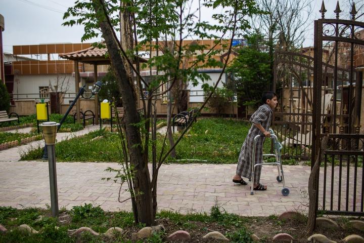 位於哈姆達尼耶鎮的無國界醫生醫院,是整個尼尼微省唯一提供術後護理的設施。© Diego Ibarra Sánchez/MEMO