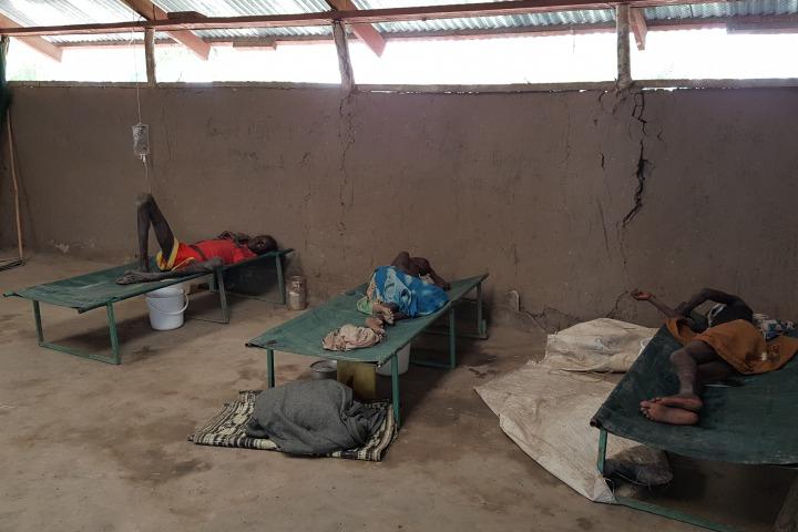 在5月24日,位於彼里的霍亂治療中心已治理了約20個疑似霍亂個案。© Amandine Colin/MSF