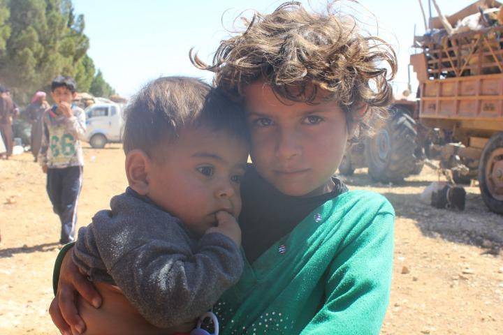 逃離拉卡的難民 © MSF