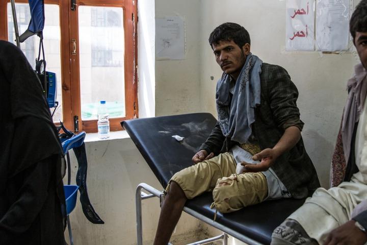 海丹醫院的急診室。©Agnes Varraine-Leca/MSF