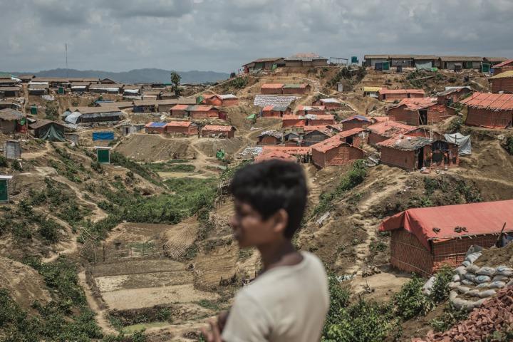 攝於孟加拉。2017年8月無國界醫生失去在若開邦北部進行醫療活動的許可。之後一年以來,無國界醫生依然無法在該地區展開救援。©Pablo Tosco/Angul