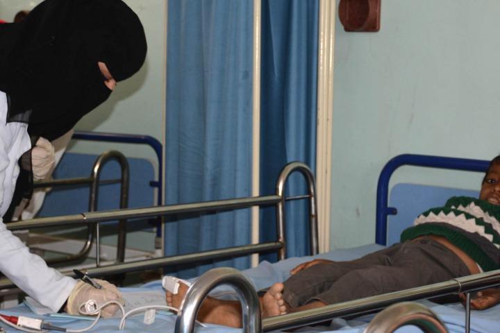 在達利,無國界醫生所支援的的納瑟醫院。© MSF