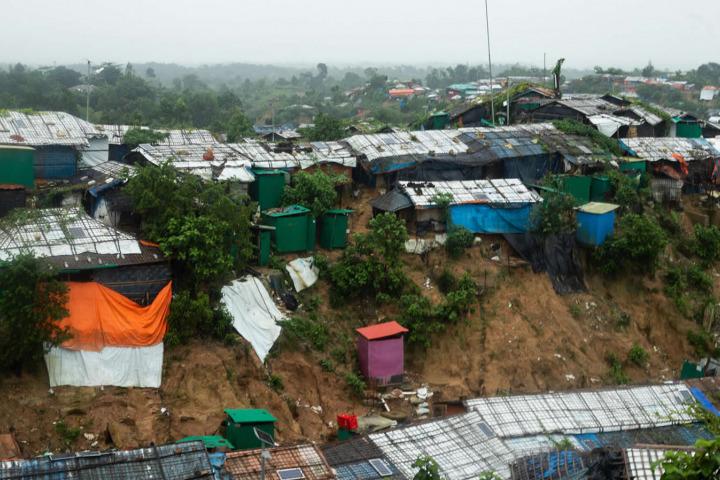 賈姆托利難民營一景。©Hasnat Sohan/MSF