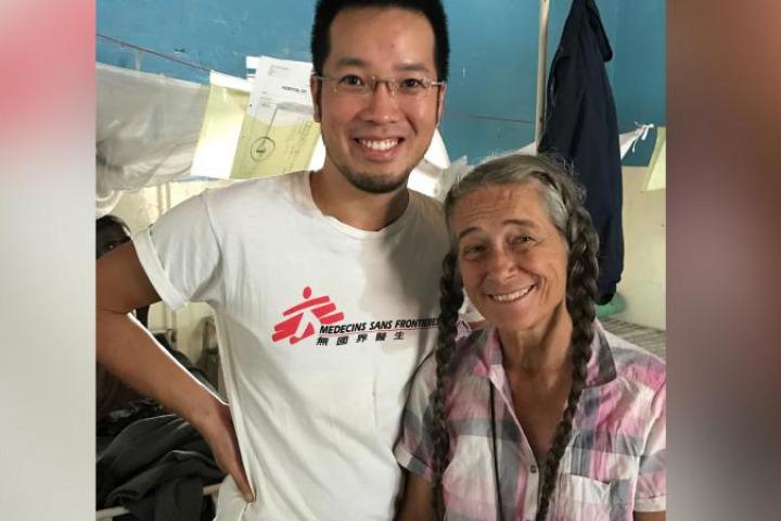 陳健華醫口中的「傳奇仁醫」─ 來自美國阿拉斯加的內科醫生Dr. Jill。© Akin Chan