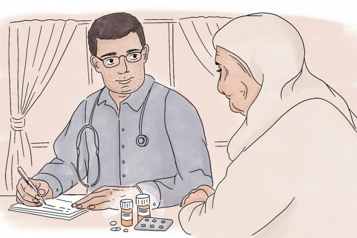 過去五年裡,照料這些病人完全改變了我的生活。© Lucille Favre/MSF