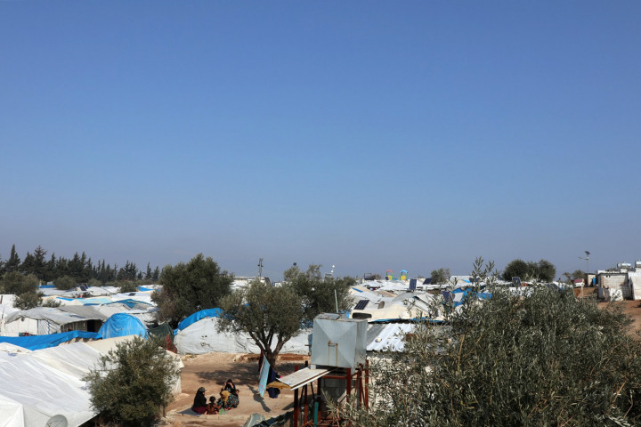 位於敘利亞西北部的卡迪木營地。© MSF