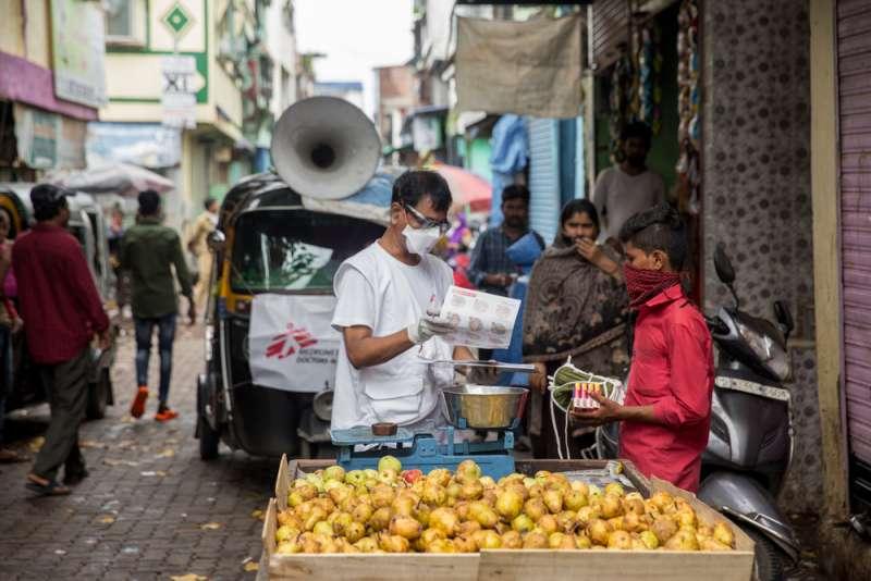 無國界醫生在印度孟買展開健康教育活動