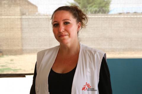 無國界醫生後勤統籌穆尼奧斯(Daniela Muñoz)