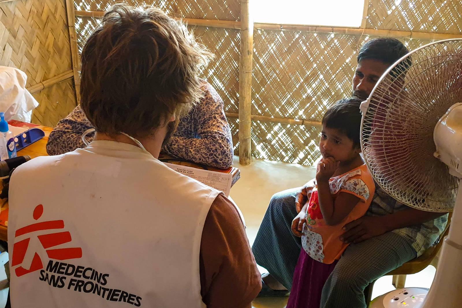 不良的衛生條件,會大大影響難民營內的生活品質。©MSF