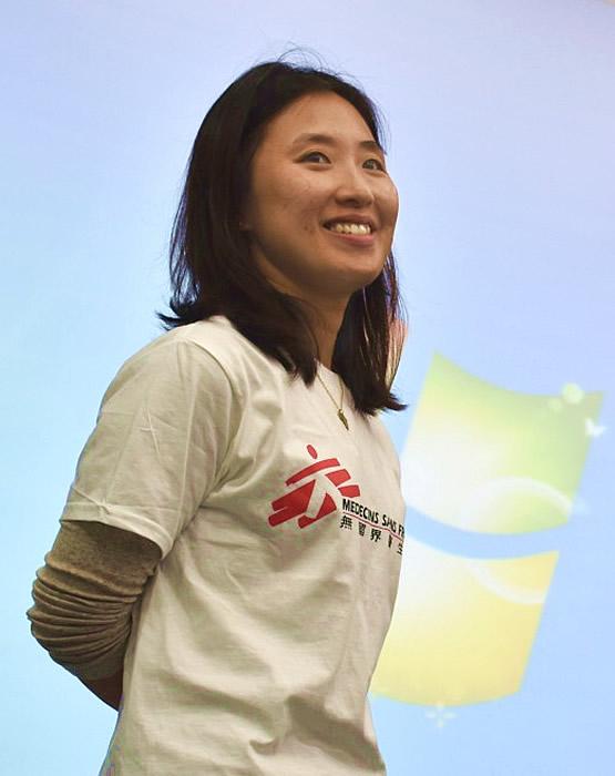 財務經理鄭巧鈺。©MSF