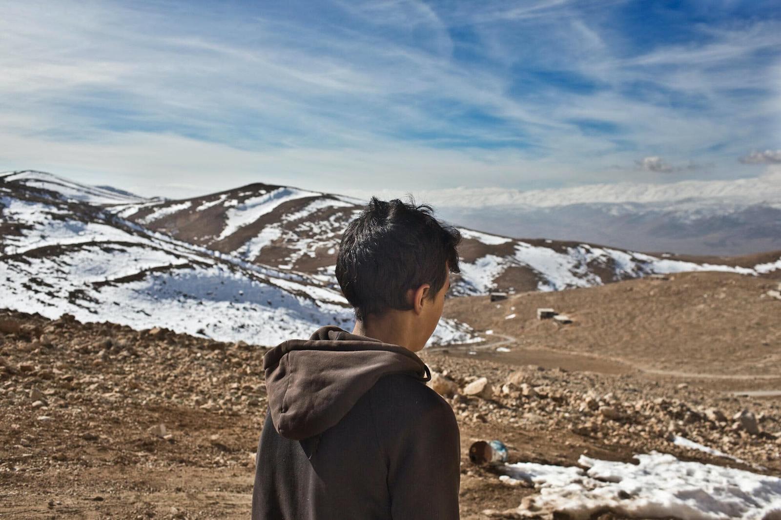 在黎巴嫩的敘利亞難民