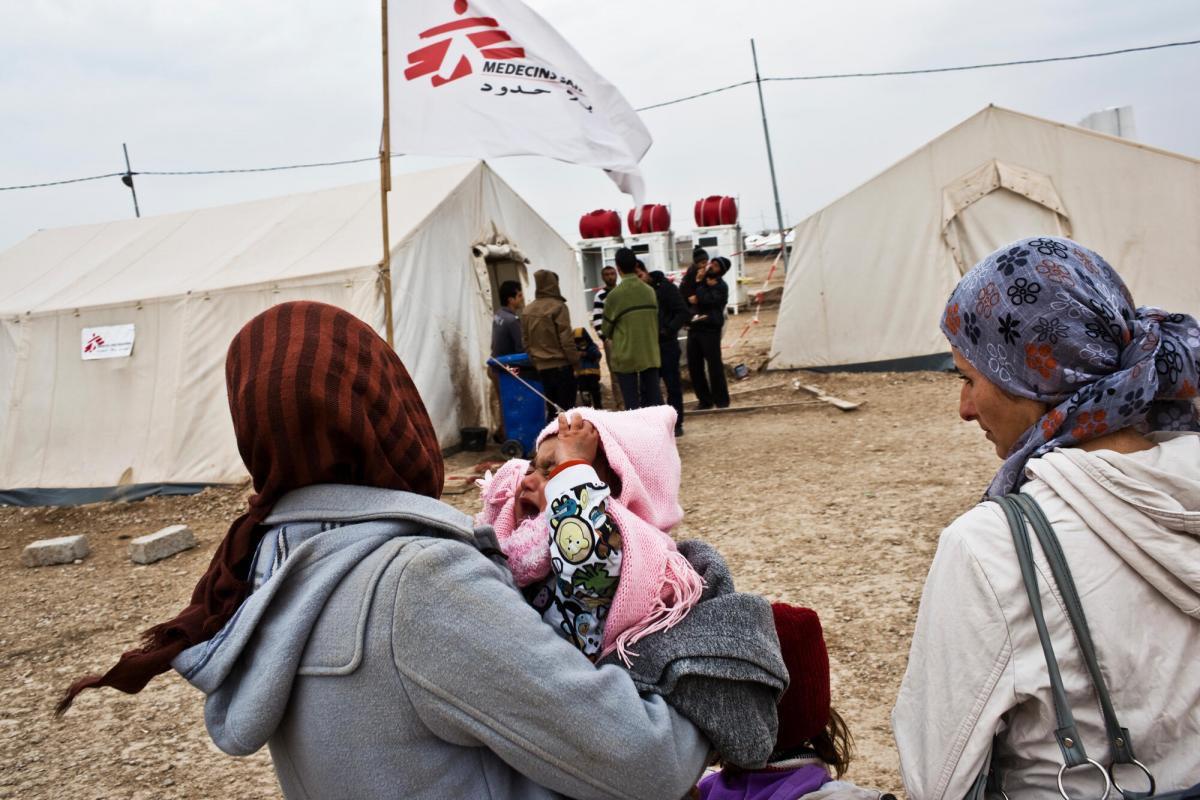 敘利亞難民在伊拉克