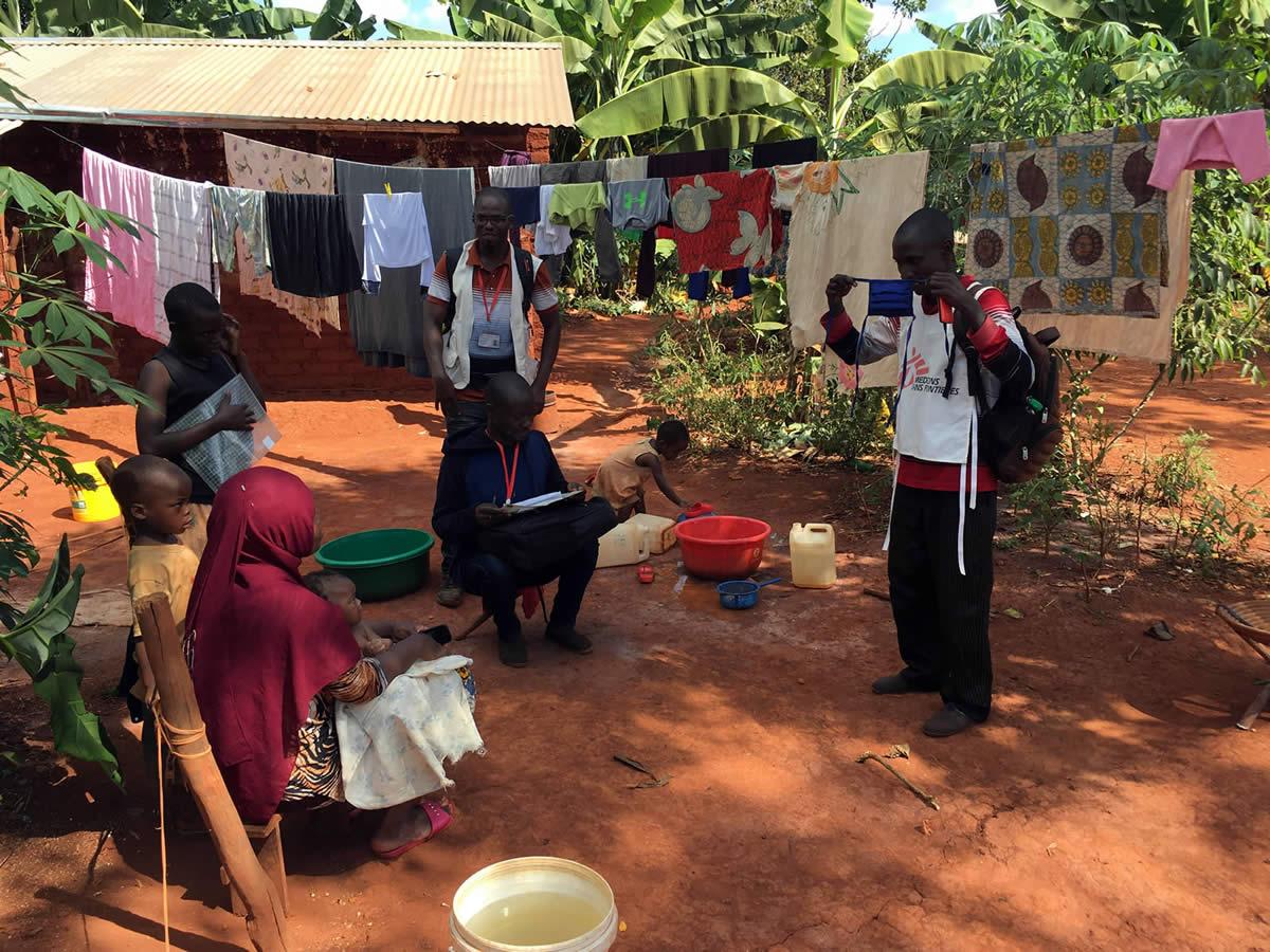 巴特勒米在坦尚尼亞的恩杜塔難民營,為無國界醫生工作。