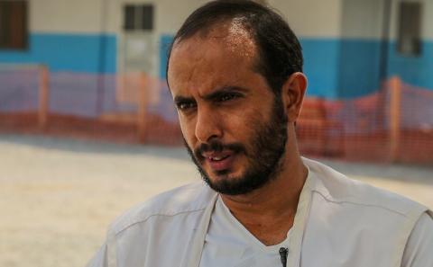 卡西姆經歷過阿卜斯醫院被空襲,他指至今很多病人仍對醫院附近出現的飛機感到害怕。© MSF